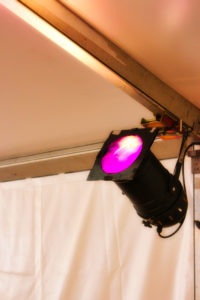 Eclairages et distributions électriques pour les événements