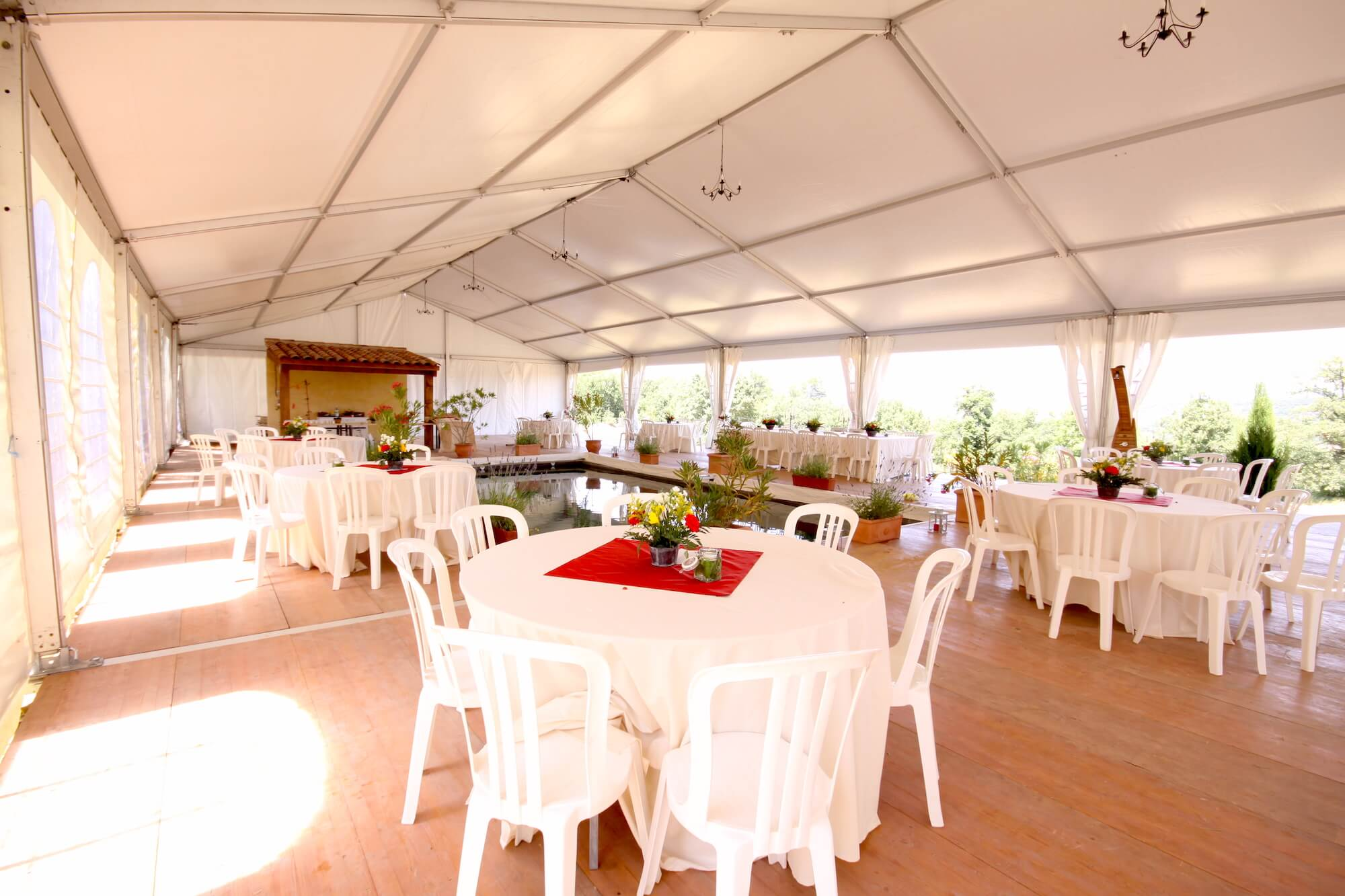 Location de mobilier pour votre mariage, ou tout autre événement privé