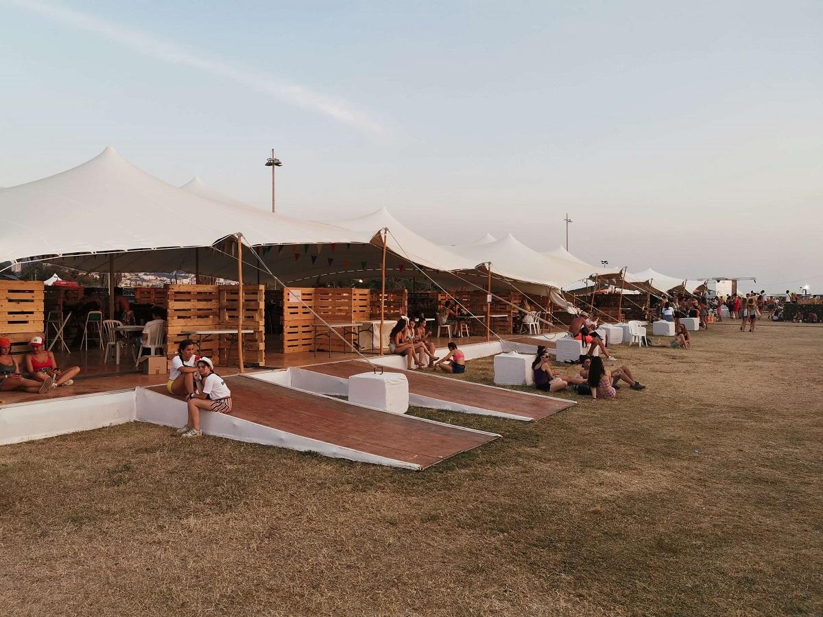 Delta Festival location tente stretch