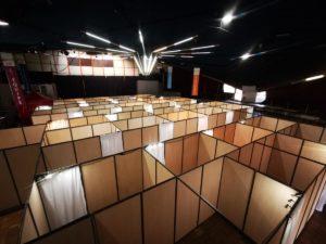 Location et installation de box stand pour test et vaccination COVID à Marseille