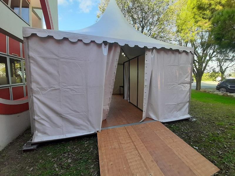 tente pour test et vaccination COVID à Marseille et dans les Bouches du Rhône