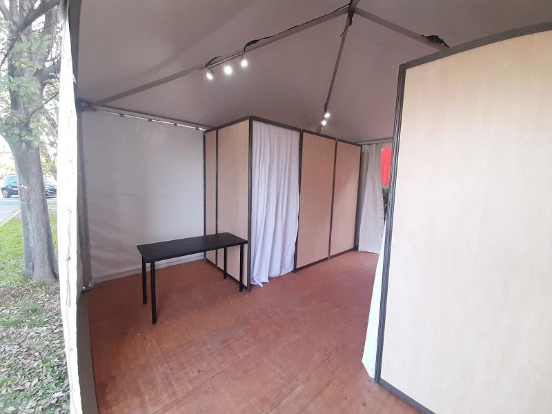 Location et montage de tente pour test et vaccination COVID à Marseille